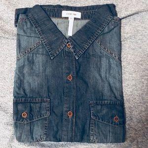 Tops - SOLD OUT Gorgeous Denim Shirt - Plus Size